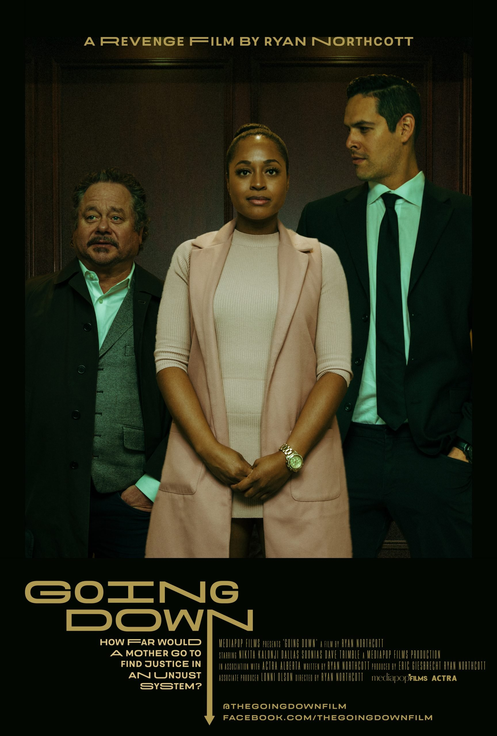 Going Down Poster Film